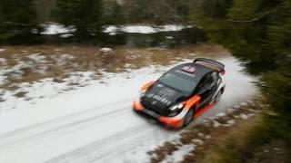 Mads Östberg WRC 2017 Test Sweden