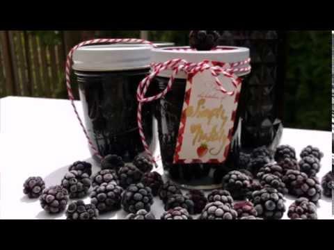 How to make  Blackberry Jam, no pectin!