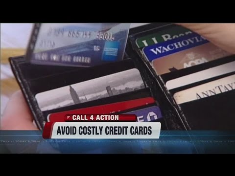 Avoid costly credit card fees