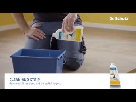 Floor Care Kit - cleaning and care of LVT flooring with Dr. Schutz