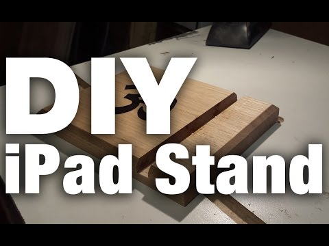 DIY iPad or Tablet stand