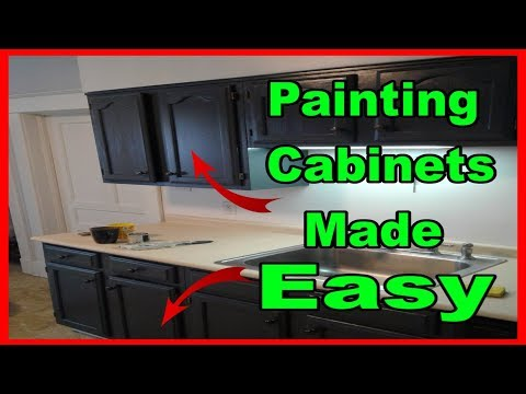 Painting kitchen cabinets for beginners