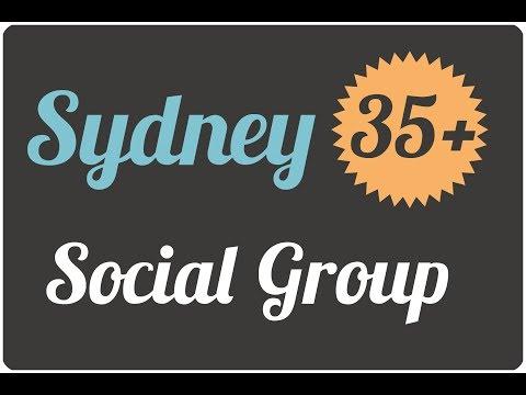 Sydney 35+ Social Group Promo