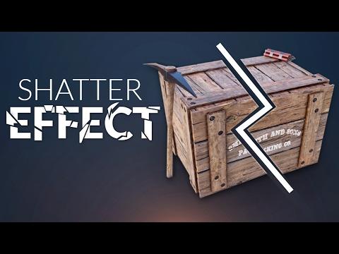 SHATTER / DESTRUCTION in Unity (Tutorial)