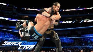 Tye Dillinger vs. Baron Corbin: SmackDown LIVE, March 20, 2018