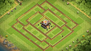 BEST TH11 FARMING BASE for DE Protection   Clash of Clans