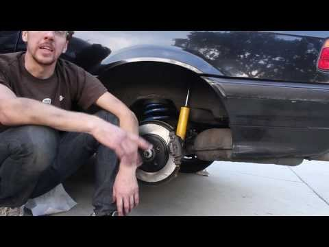 Replacing the Rear Brake Pads on a 1998 BMW 328is (E36)