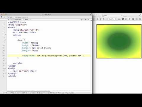 CSS3 - 11. Radial-gradient