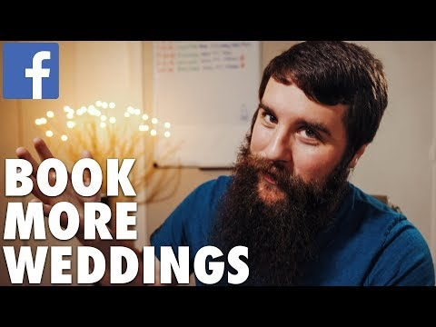 Book MORE WEDDINGS from FACEBOOK! | Marketing Tip for Wedding Filmmakers