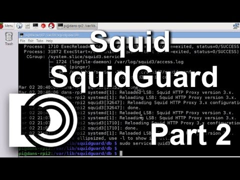 Install Squid and SquidGuard on a Raspberry Pi 2 - Part 2