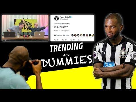 FOOTBALL TRANSFER TRENDING FOR DUMMIES | WARNING: FAKE NEWS 😂 (PRANK)