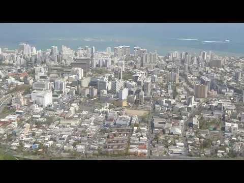 LANDING IN SAN JUAN, PUERTO RICO, Luis Munoz Marin International  After Hurricane Maria.