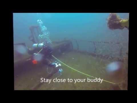 Scientific Diver Video in North Carolina- Titan (AR-345)
