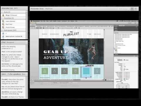 Building Responsive Design in Dreamweaver CC, with Paul Trani