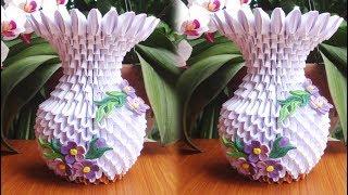 3D Origami (Vase) — Steemit | 180x320