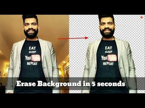 Background Ereas In Just 5 second | Not making fool | With proof 100% Real |