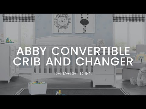 Delta Children's Abby Crib 'N' Changer Assembly Video