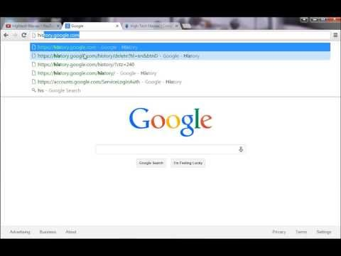 How to download and delete your entire google search history easily