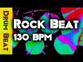 Straight Hard Rock Drum Beat 130 Bpm Jimdooleynet