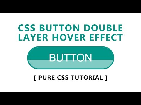 Create CSS Buttons With Hover Effect - Html5 Css3 Tutorial