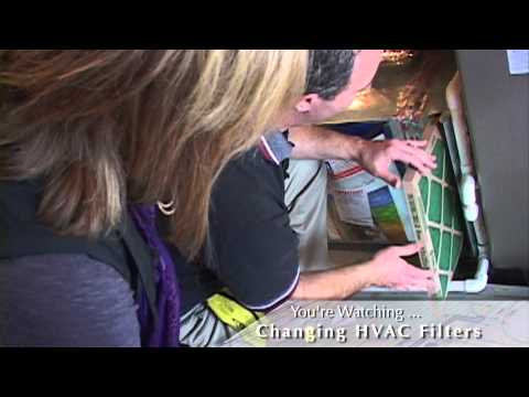 How to Change Your HVAC Filters