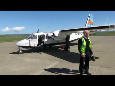 Loganair BN-2B-26 - Flight from Kirkwall (KOI) to Papa Westray (PPW), Scotland