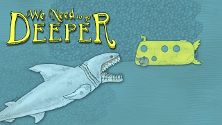 Giant Palejaw Shark Boss and the Infected Depths! - We Need To Go Deeper Gameplay