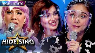 Vice Ganda Makes An Issue About Nathalie Hart And Kim Chiu It S Showtime Hide And Sing