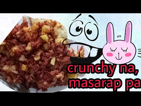 Crunchy corned beef