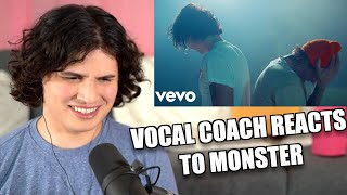 Vocal Coach Reacts to Shawn Mendes, Justin Bieber - Monster