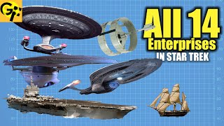 All 14 Enterprises in Star Trek Explained