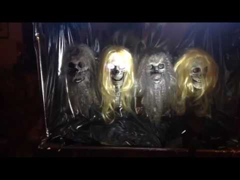 Tabletop Studios - Animatronic Head and mouth synced to music