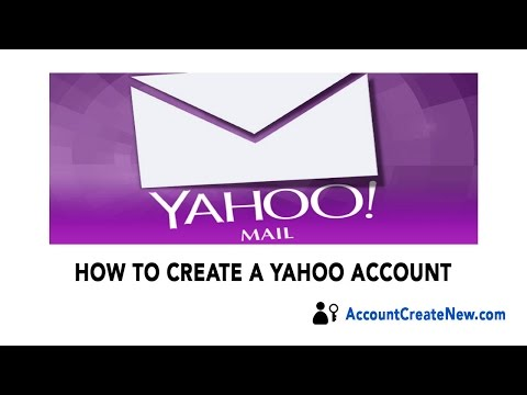 How To Create a New Yahoo Account - 2018