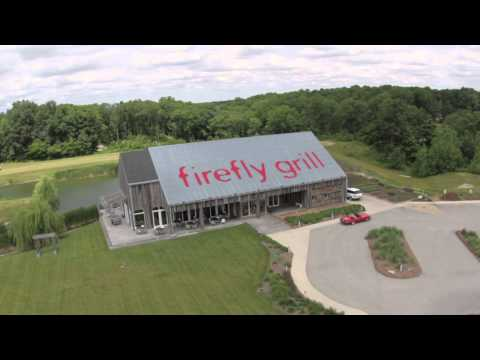 Firefly Grill ariel view of our gorgeous location