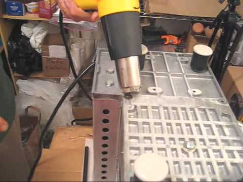 Removing stubborn or seized bolts on a Norwalk juicer base plate