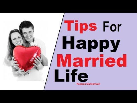 How to be Happy in Married Life | Husband Wife Relationship Tips |  Ranjana Maheaswari
