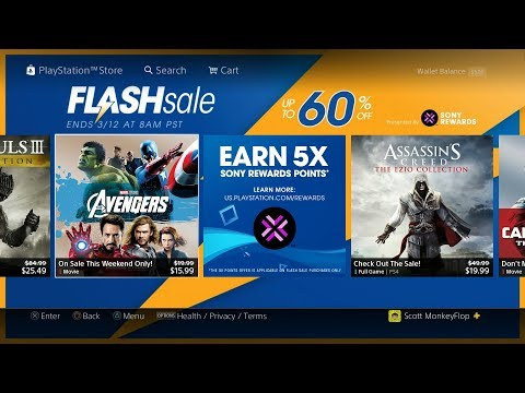 PS4 FLASH SALE 2018 March ($1.19 PS4 EASY PLATINUM'S)