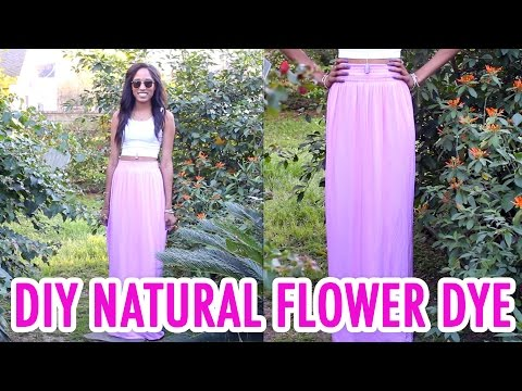 How to Dye Fabric with Flower Petals! - HGTV Handmade
