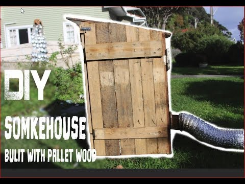 How to build a smokehouse - out of pallet wood
