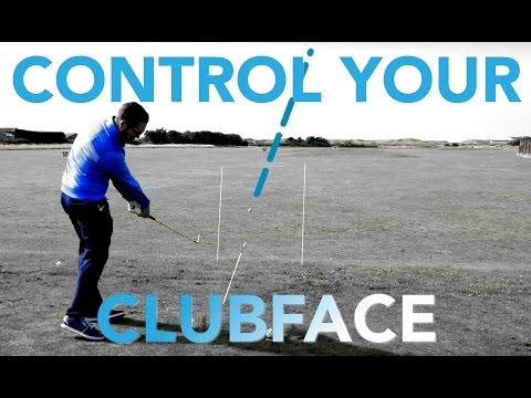 CONTROL GOLF CLUB FACE - HIT A DRAW, STRAIGHT, FADE SHOT