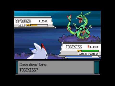 Pokémon Heart Gold/Soul Silver - Catturiamo Rayquaza HD (ITA)