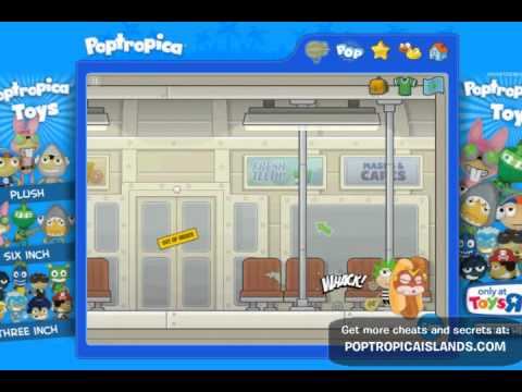 Poptropica - Super Power Island Walkthrough Part 1