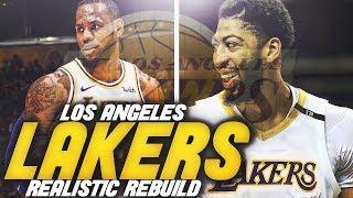 ANTHONY DAVIS LOS ANGELES LAKERS REBUILD! NBA 2K19