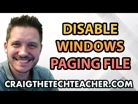 How To Disable The Windows 7 Paging File - Ep. 24
