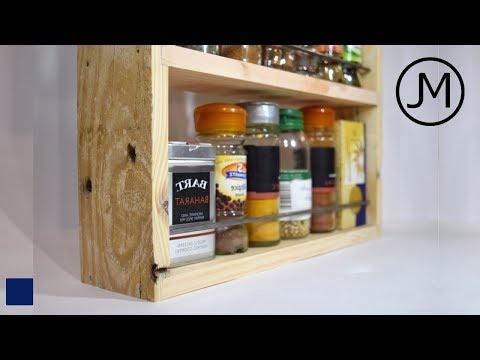 Making Rustic Spice Racks [46]