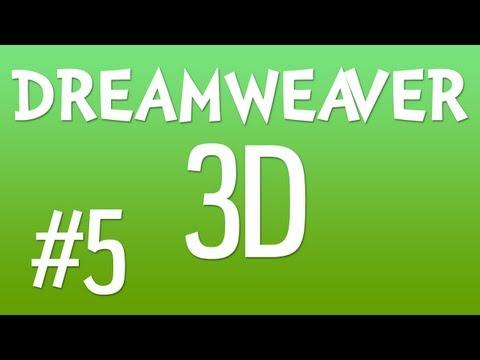 DREAMWEAVER 3D #5: Building the Search Box