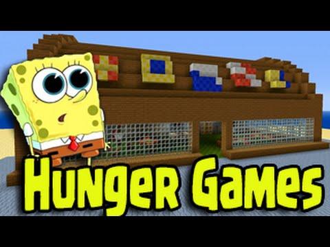 Minecraft PS3, PS4, Wii U Hunger Games - Spongebob Bikini Bottom
