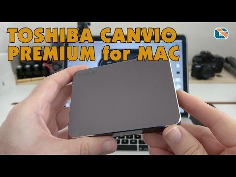 Toshiba Canvio Premium for Mac USB 3.0 Portable Hard Drive Speed Test & Review