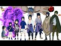 Naruto characters: Uchiha Sasuke's evolution