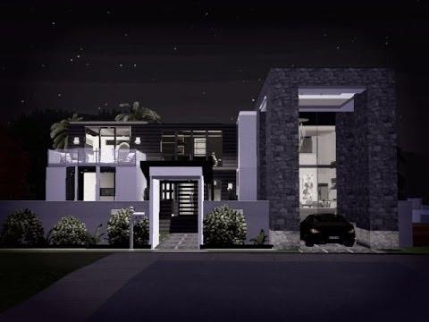 The Sims 3 Modern Beach Home (No CC)